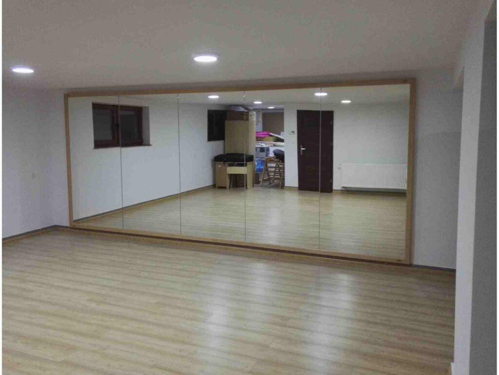 Bricorome-miroir salle danse paris75008