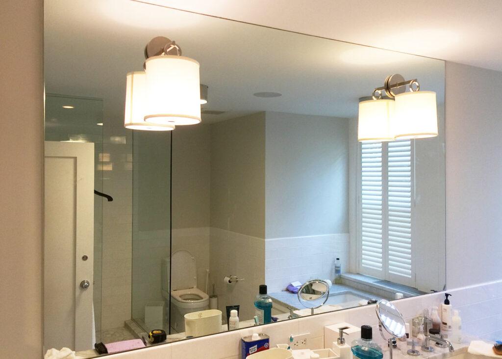 mirror salle de bain sur mesure à paris